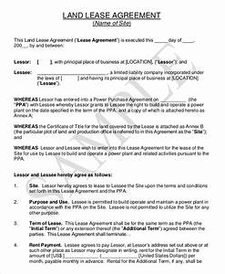 farm land lease agreement sample With farm rental agreement template