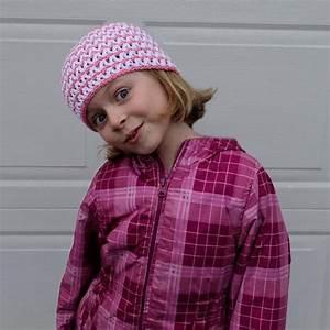 Quick and Simple Crocheted Chevron Hat | AllFreeCrochet.com