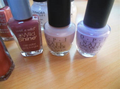 Nail Polish/glue Mixed Lot-opi Sephora, Sally Hansen, Wet