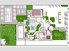 Club house site plan and club house architecture design