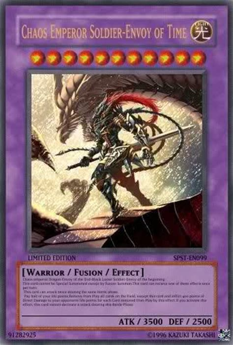 chaos emperor deck ended lock my held contest all type
