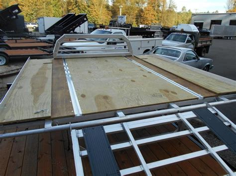 Wood Sled Deck Plans by Specials Trailers Nw Trailers Utility Cargo And