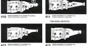 Borg Warner T 10 Identification