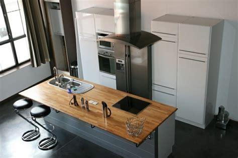ilot centrale cuisine pas cher ilot central cuisine avec plaque cuisson cuisine en image