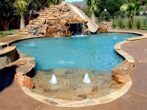 Deck Designs For Above Ground Pool by Tub Landscaping Swimming Pools With Waterfalls And