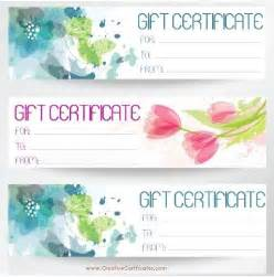 Free Printable Editable Gift Certificate Template