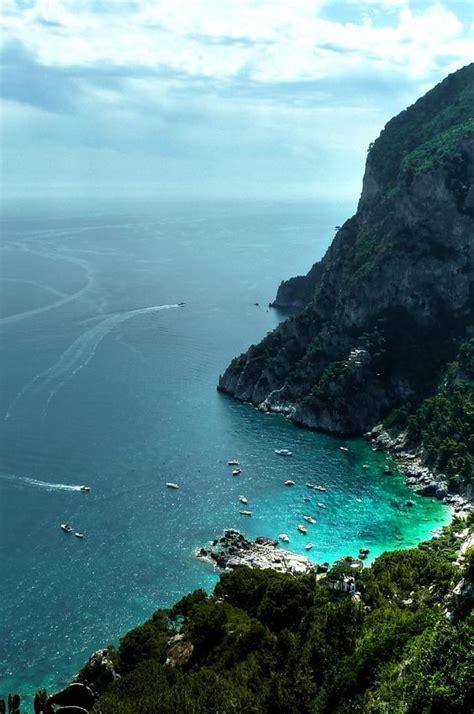 Capri Seascape Italy Wallpaper 1080p P1120780 Rick
