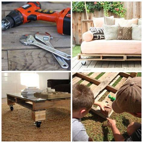 canapé en palette de bois fabriquer salon de jardin en palette de bois tuto canapé