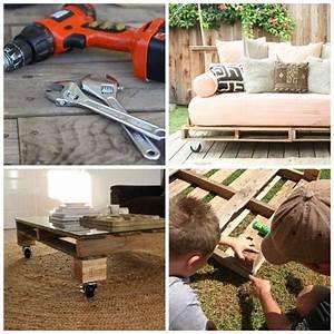 awesome fabriquer table basse jardin images design With fabriquer sa table de jardin en bois