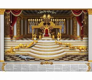 King Solomons Throne Poster aJudaica com
