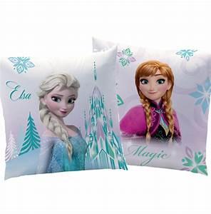 Coussin Reine Des Neiges : reine des neiges coussin 40 x 40 cm arabesque frozen ~ Mglfilm.com Idées de Décoration
