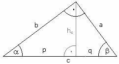 Fehlende Größen Im Dreieck Berechnen : s tze am rechtwinkligen dreieck wir wiederholen ~ Themetempest.com Abrechnung