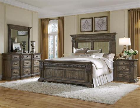 cal king bedroom sets furniture pulaski furnishing arabella panel bedroom set