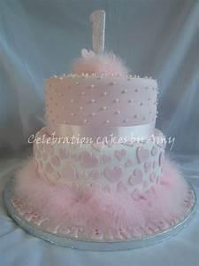 Little Girls 1St Birthday Cake - CakeCentral.com