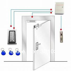 Access Control Kit   1pc Metal Access Controller  12v3a Power Supply 280kg Magnetic Lock  Door