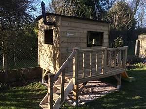 Cabane De Jardin En Bois Enfant : cabane pour enfants en bois instructions de montage ~ Dailycaller-alerts.com Idées de Décoration