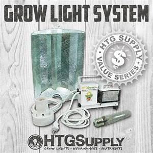250 Watt Hps Grow Light Set 250w High Pressure Sodium W Bulb Ballast Hood Lamp