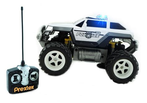 Prextex Remote Control Monster Police Truck Radio Control