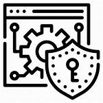 Icon Security Website Browser Icons Internet Interface