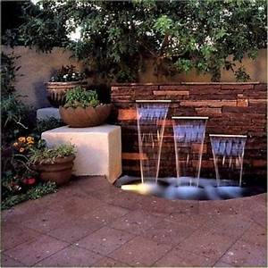 Pin by angela segler on home sweet home pinterest for Outdoor patio fountains