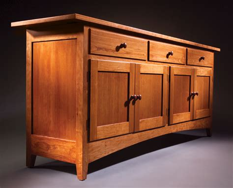 shaker sideboard popular woodworking magazine
