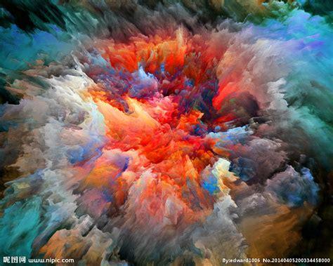 梦幻星空油画水彩画设计图__背景底纹_底纹边框_设计图库_昵图网nipic.com