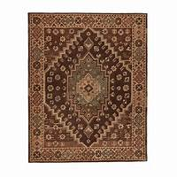 home depot rugs Home Decorators Collection Izmir Chocolate 8 ft. x 10 ft ...