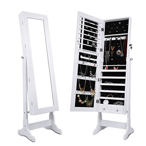 armoire a bijoux miroir the 10 best wall mounted jewelry organizers to keep jewels