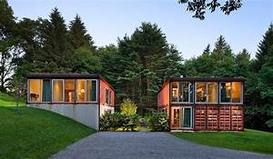 Modern shipping container homes are unique eco friendly for Modern shipping houses