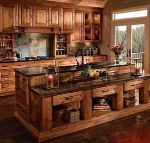 Muebles, De, Madera, Para, Cocina
