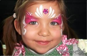 Maquillage Enfant Facile : petite princesse facile enfants fille maquillage ~ Melissatoandfro.com Idées de Décoration