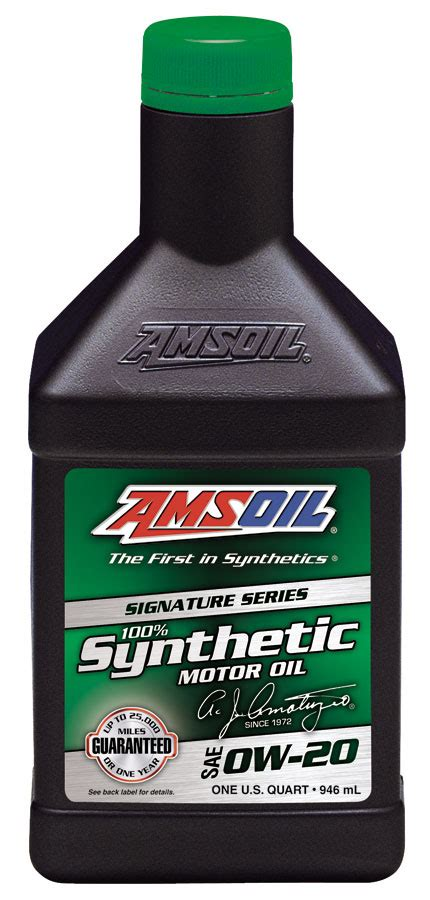 Amsoil Signature Series 0w20 Motor Oil