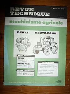 Telecharger Revue Technique : telecharger des livres gratuit revue technique machinisme agricole n 28 moteurs deutz f5l912 ~ Medecine-chirurgie-esthetiques.com Avis de Voitures