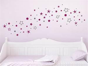 Sternenhimmel Fürs Schlafzimmer : wandtattoo zweifarbiger sternenhimmel wandtattoo de ~ Michelbontemps.com Haus und Dekorationen