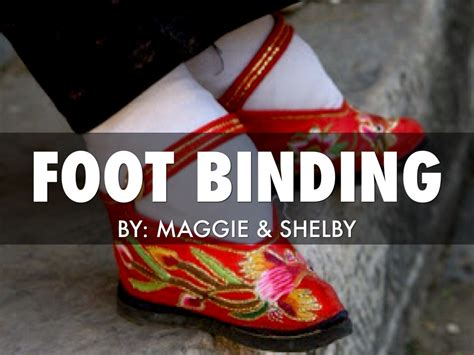 Ancient China Foot Binding Chainimage