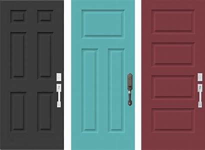 Doors Door Transparent Verdun Teal Steel Windows