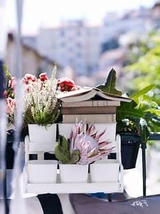 Pot Fleur Ikea : d coration balcon 12 pots de fleurs et jardini res c t maison ~ Teatrodelosmanantiales.com Idées de Décoration