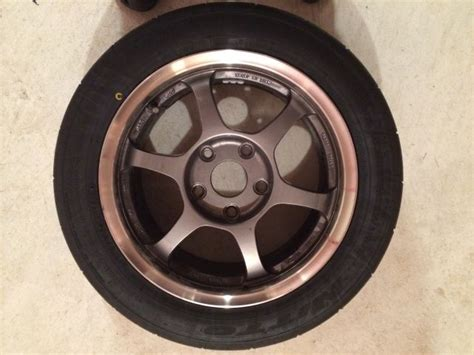 15x7.5 Ssr Competition Rims With Brand New 225/45/15