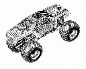 Monster Mutt Coloring Pages Printable. Monster. Best Free ...