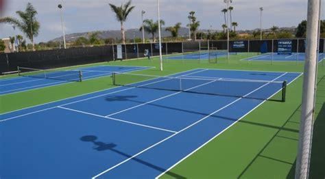 tennis court resurfacing repair san diego ca