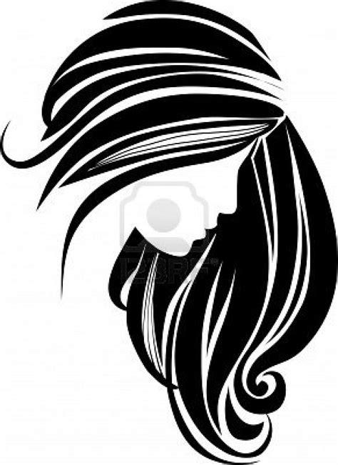 hair clipart black and white black hair clipart clipart panda free clipart images