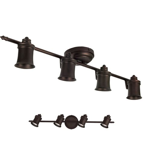 oil rubbed bronze  light track lighting ceiling  wall