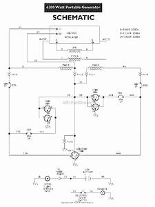 Snapper G62000 6200 Watt 11 Hp Generator  030216  Parts Diagram For Wiring Schematic