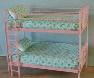doll bunk bed miniature metal bed playscale barbie blythe
