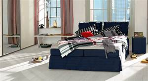 Tom Tailor Bett : romantisches tom tailor cushion boxspringbett mit volant ~ Whattoseeinmadrid.com Haus und Dekorationen
