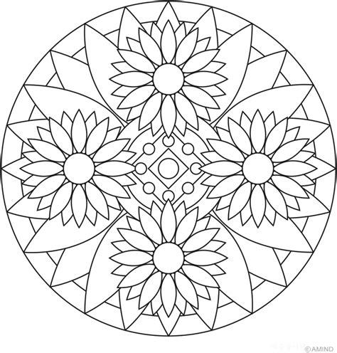 Mandalas Para Colorear, Pintar E Imprimir