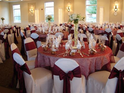 chair covers  lansing table decorations