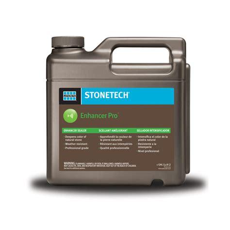 stonetech sealer stonetech 174 enhancer pro sealer 1 gallon
