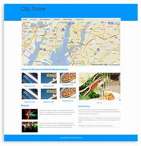 City Guide Template - Templates
