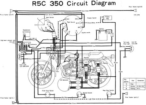 Yamaha Wiring Diagram Evan Fell Motorcycle Works